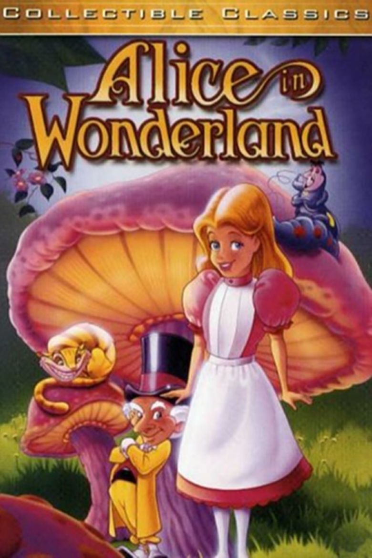 Alice in Wonderland (1995 film) movie poster