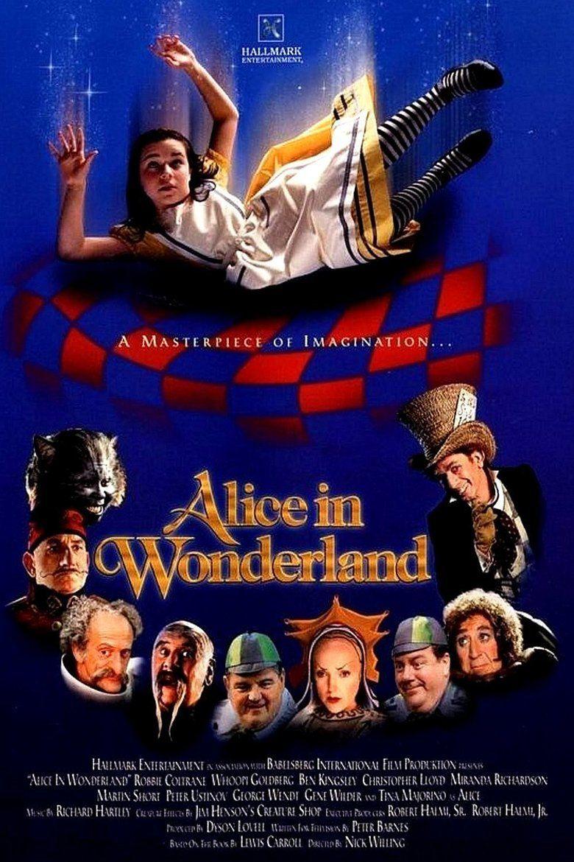 Alice in Wonderland (1999 film) movie poster