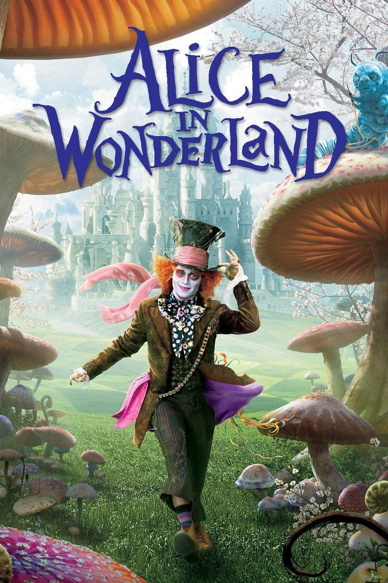 Alice in Wonderland (2010 film) movie poster