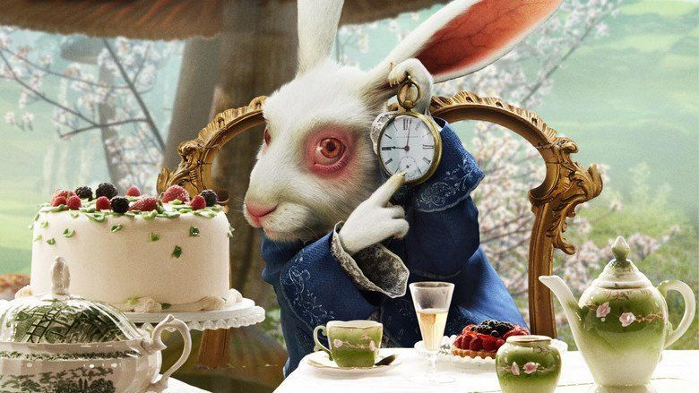 Alice in wonderland 2010 film alchetron the free social encyclopedia - Alice au pays des merveilles lapin en retard ...