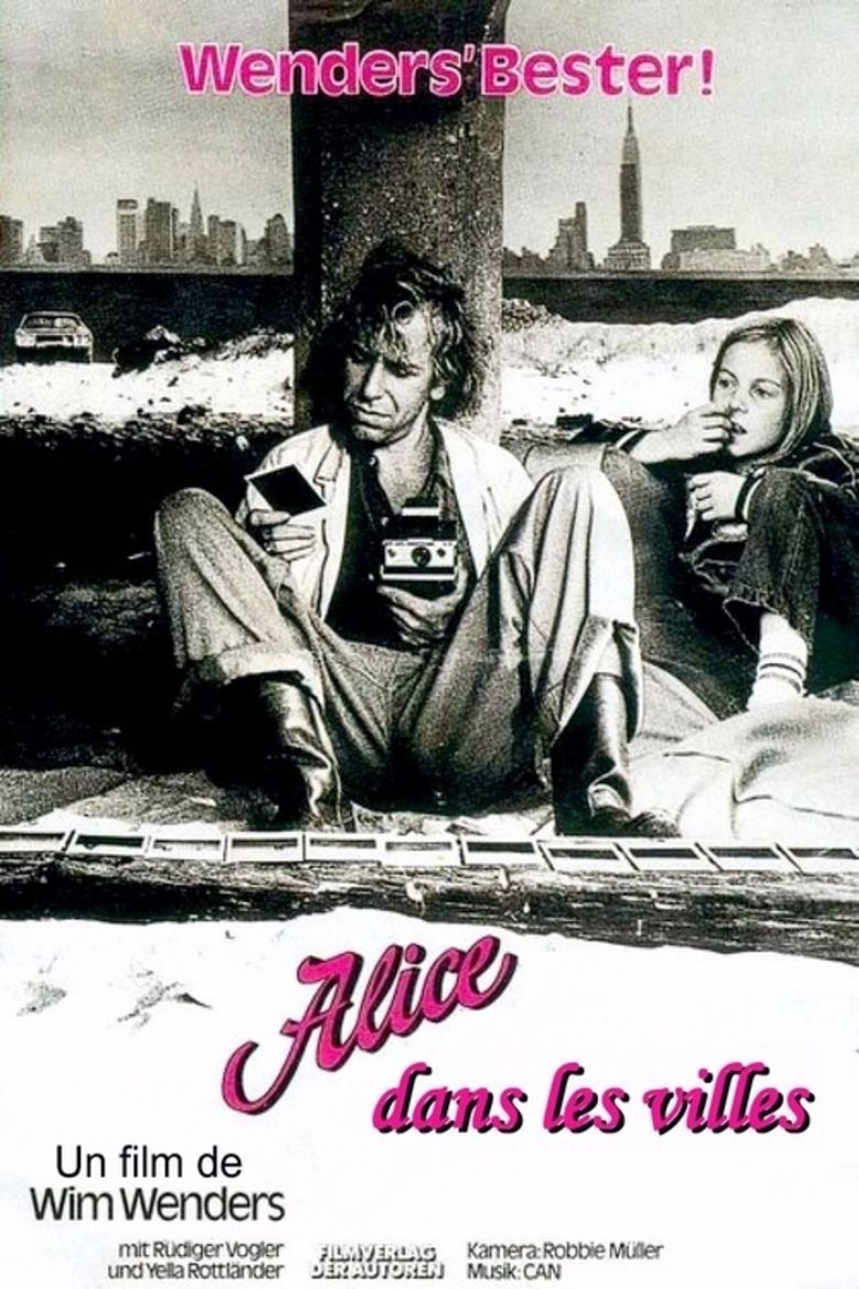 Alice in the Cities movie poster