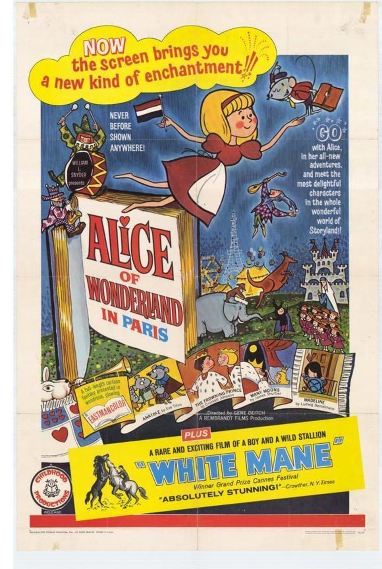 Alice of Wonderland in Paris movie poster