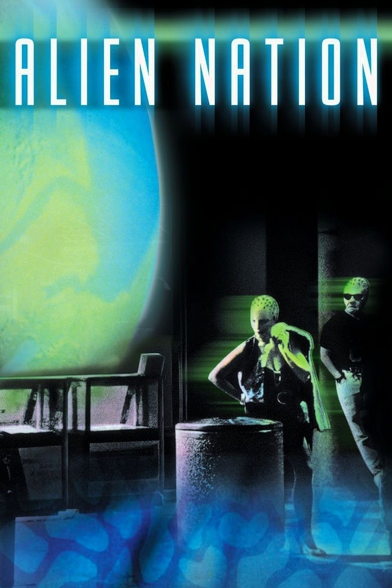 Alien Nation (film) movie poster