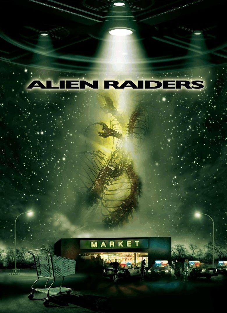 Alien Raiders movie poster