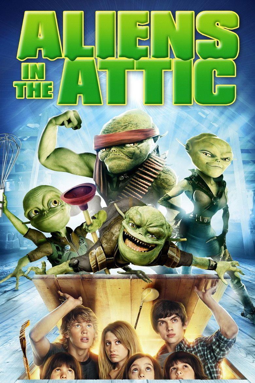 Aliens in the Attic movie poster