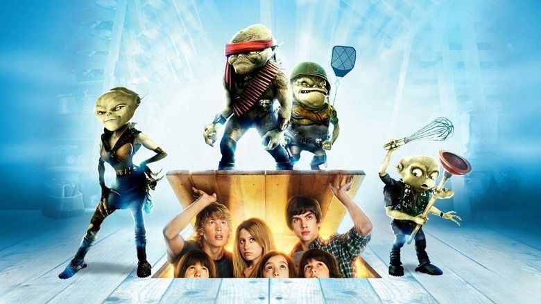 Aliens in the Attic movie scenes
