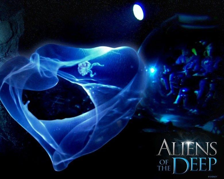 Aliens of the Deep movie scenes