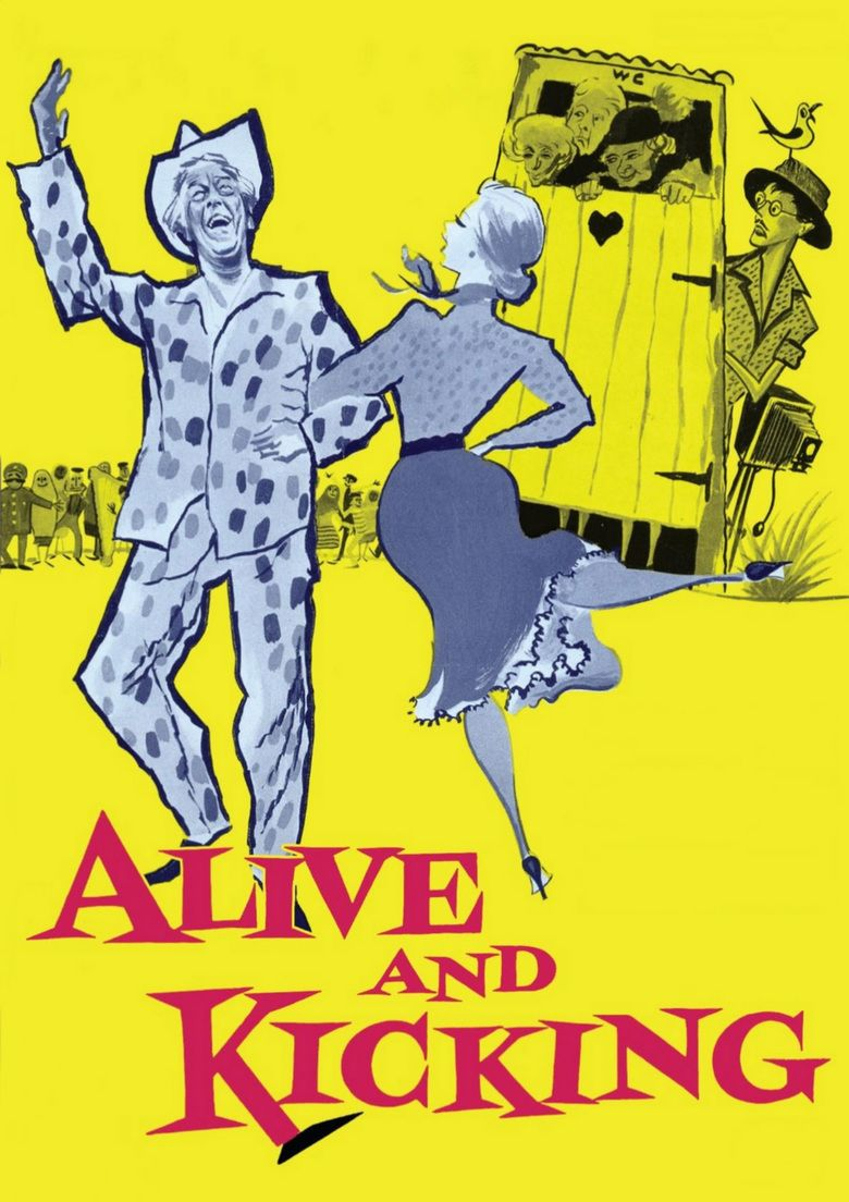 Alive and Kicking (film) movie poster