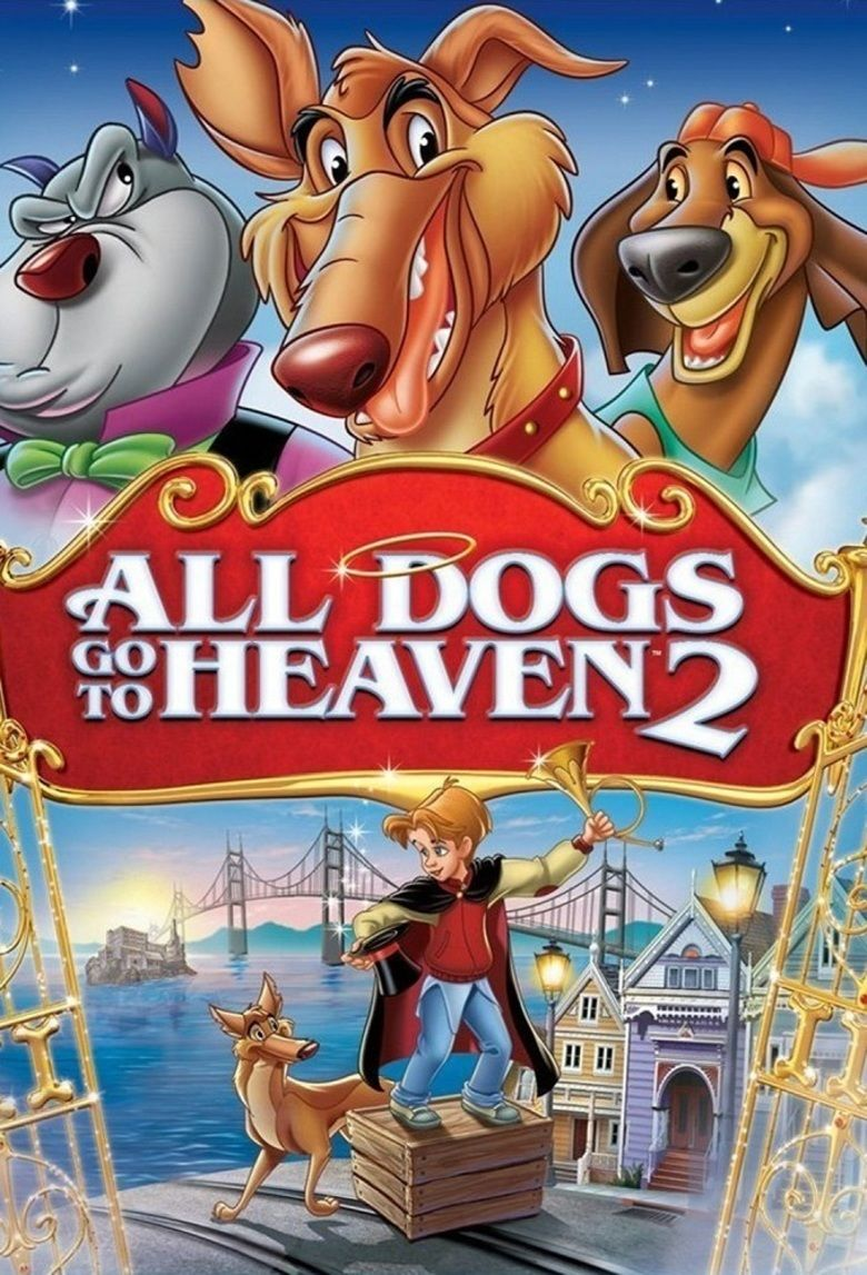 All Dogs Go to Heaven 2 movie poster