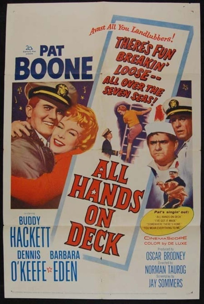 All Hands on Deck (film) movie poster