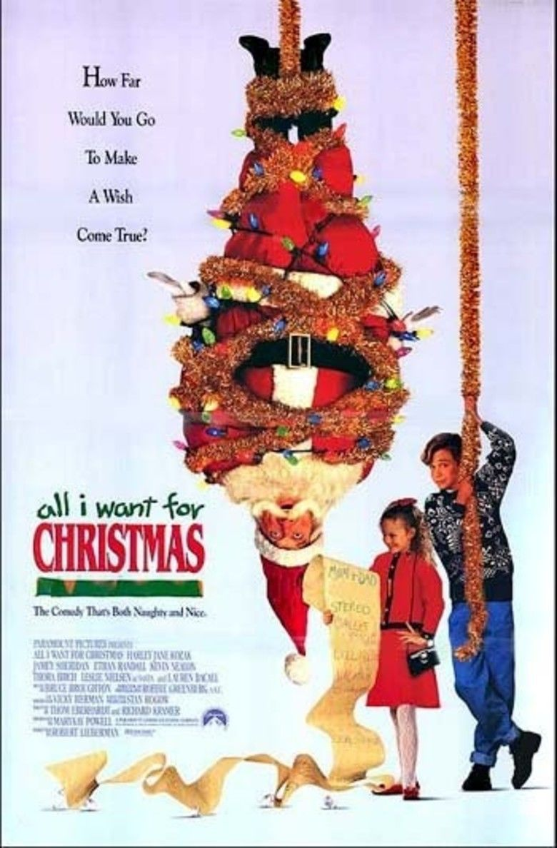 All I Want for Christmas (film) movie poster