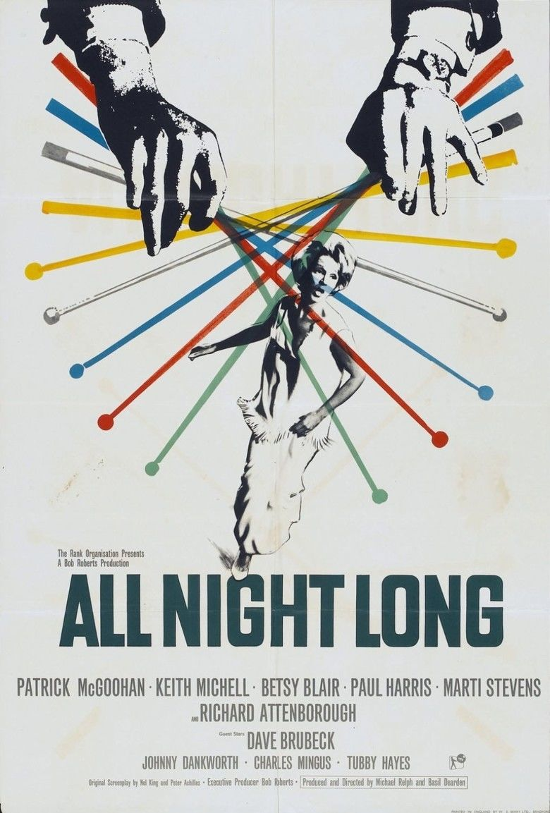 All Night Long (1962 film) movie poster