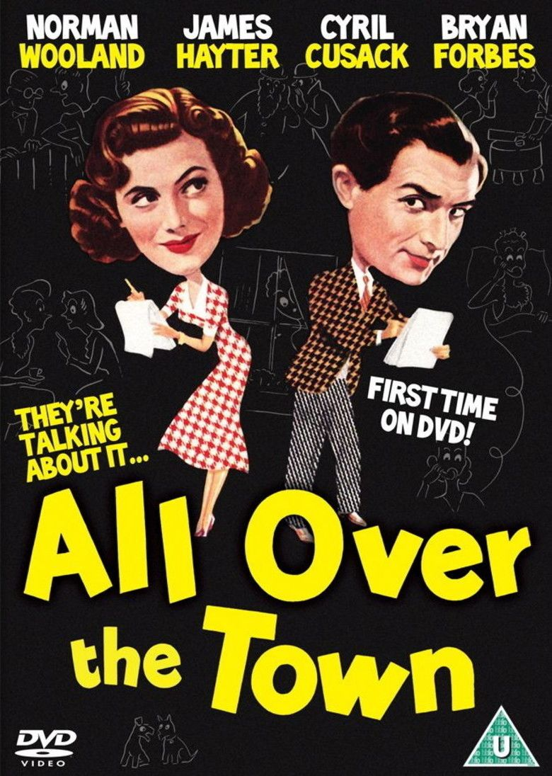 All Over the Town movie poster