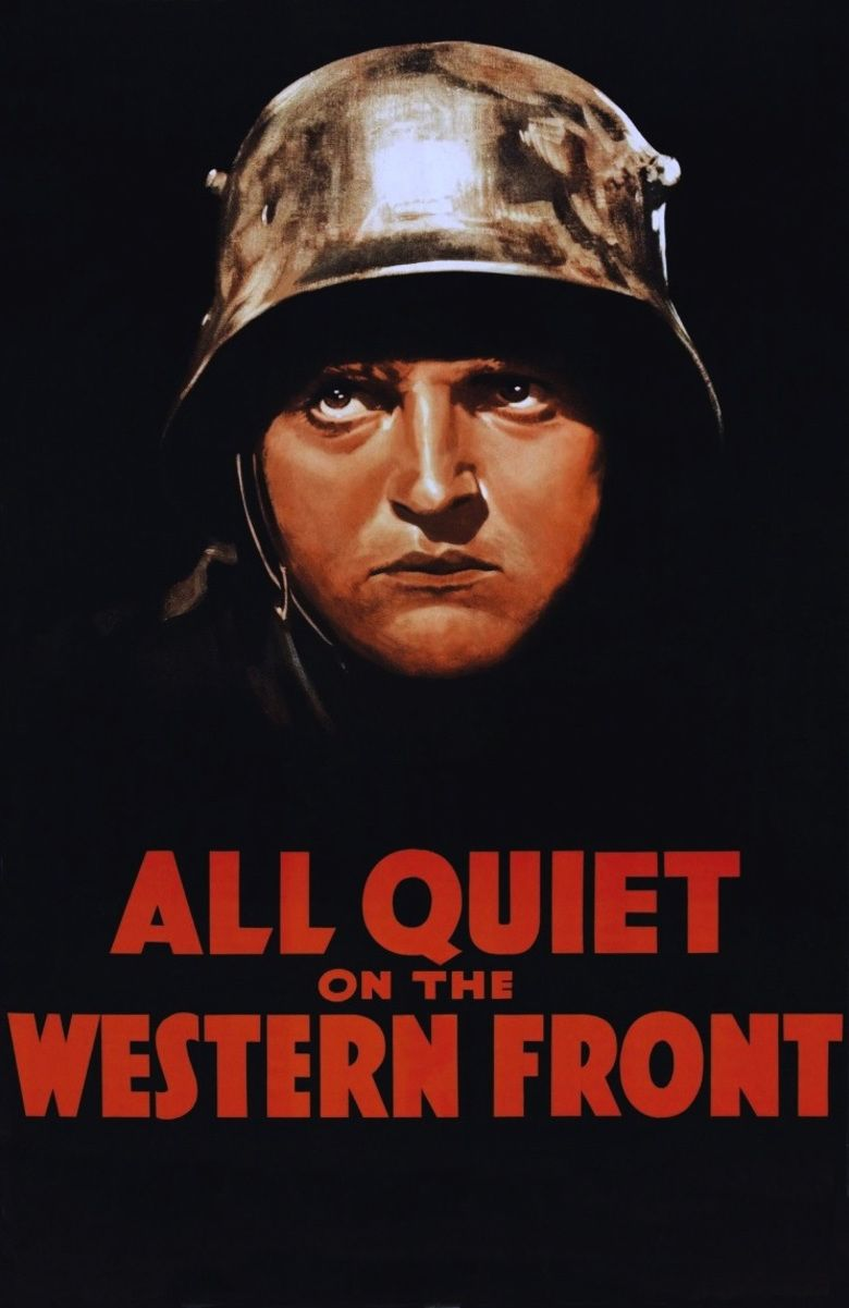 Was all quiet on the western front a protest or not?