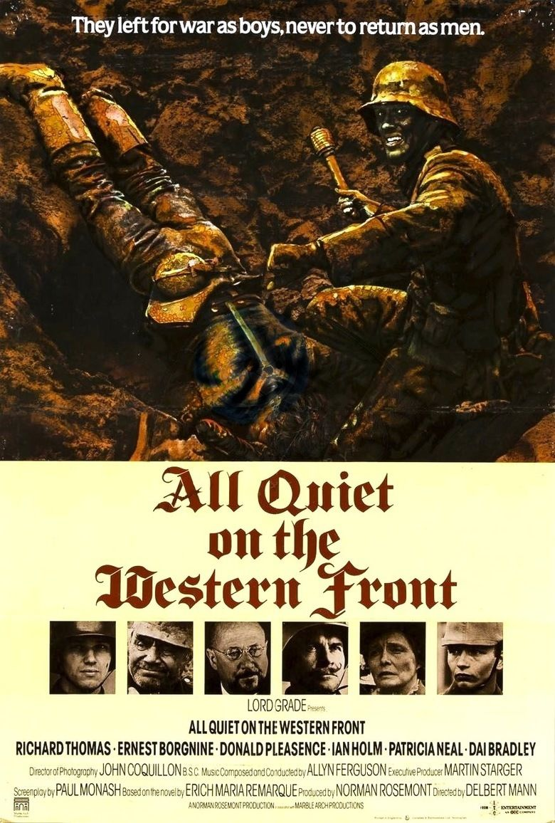 All Quiet on the Western Front (1979 film) movie poster