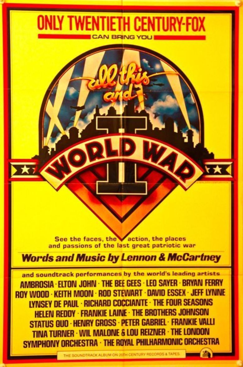 All This and World War II movie poster