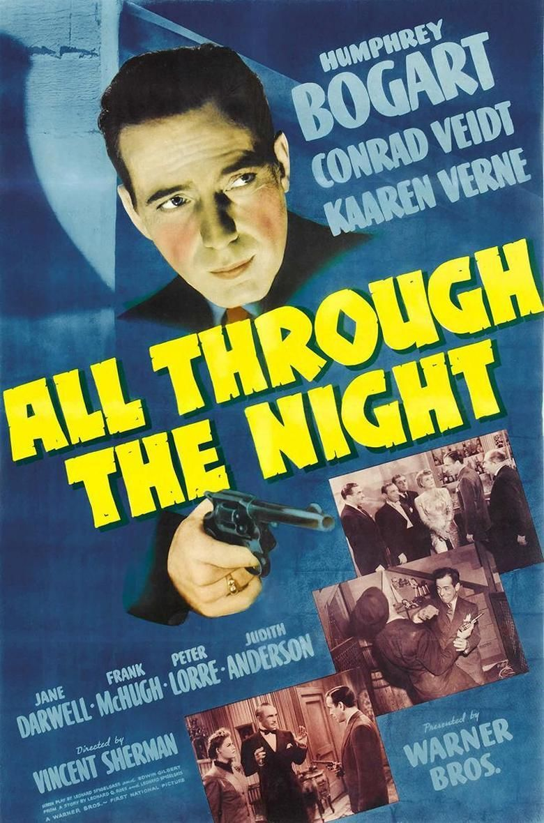 All Through the Night (film) movie poster