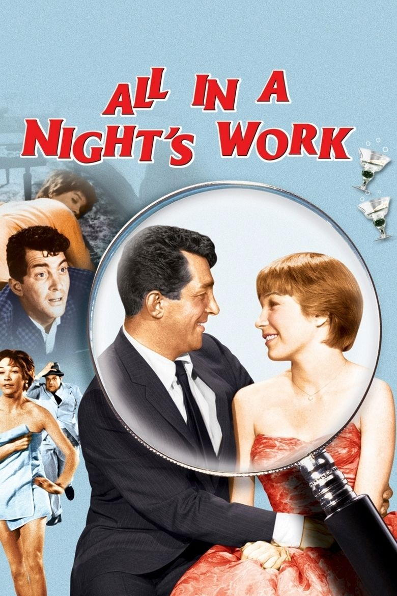 All in a Nights Work (film) movie poster