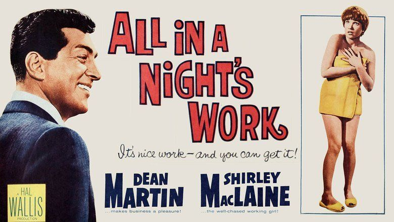 All in a Nights Work (film) movie scenes