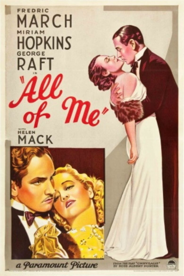 All of Me (1934 film) movie poster