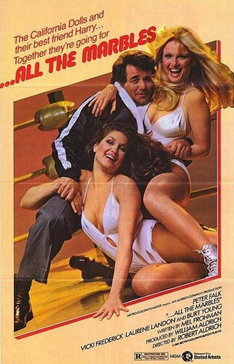 All the Marbles movie poster