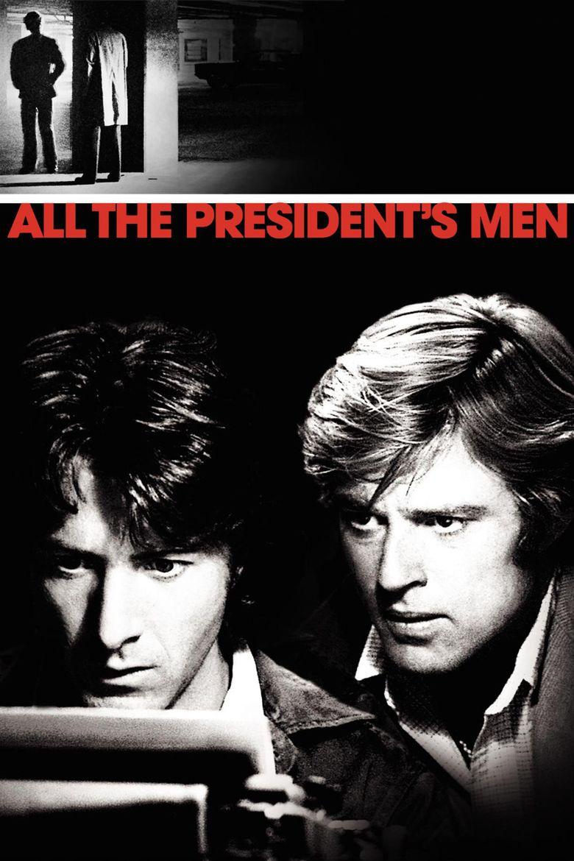 All the Presidents Men (film) movie poster