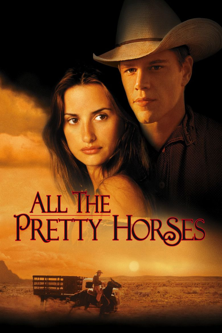 All the Pretty Horses (film) movie poster