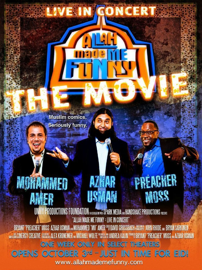 Allah Made Me Funny: Live in Concert movie poster