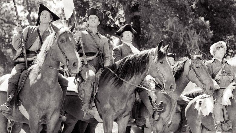 Allegheny Uprising movie scenes