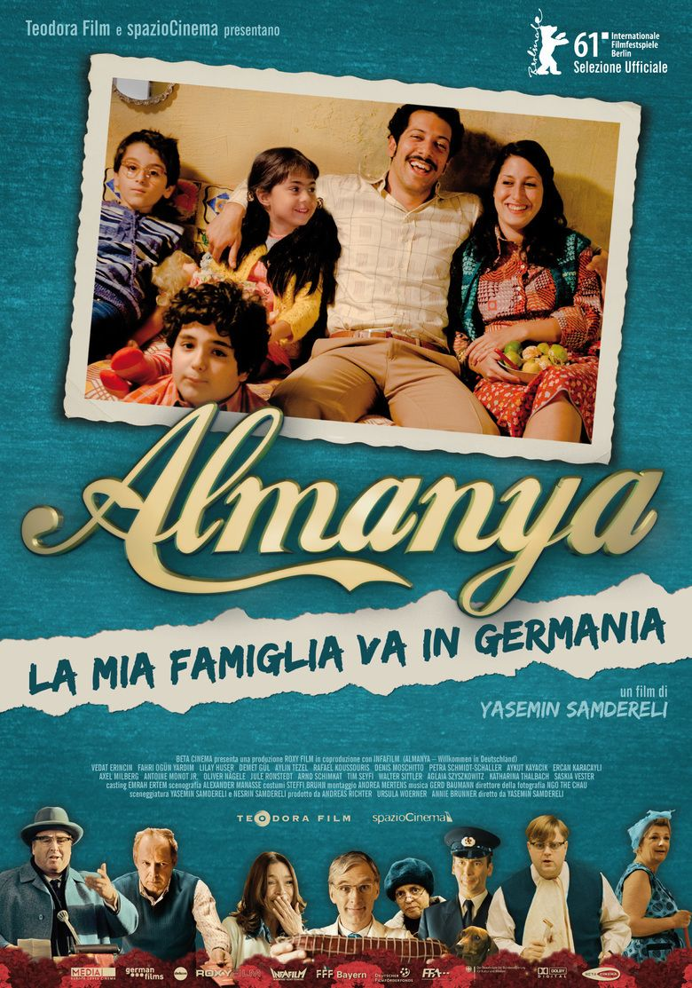 Almanya: Welcome to Germany movie poster