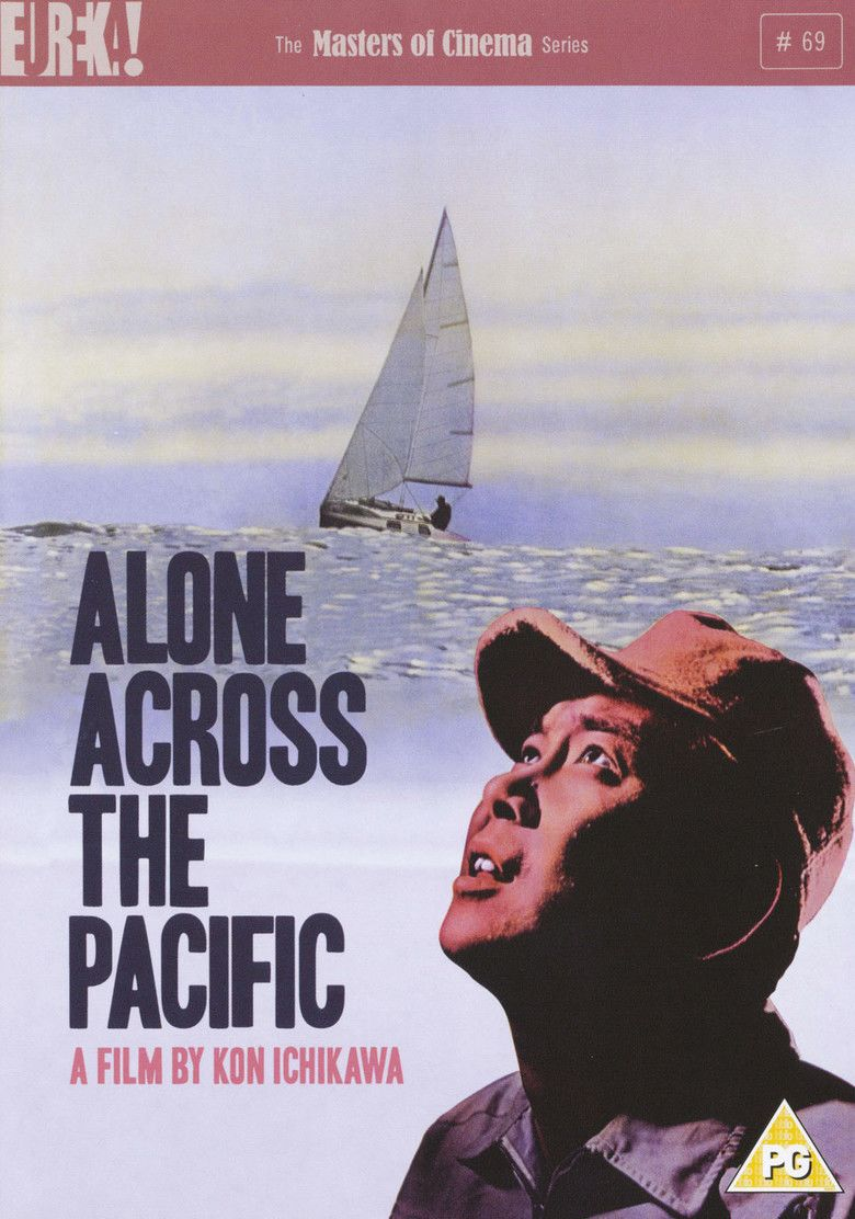 Alone Across the Pacific movie poster