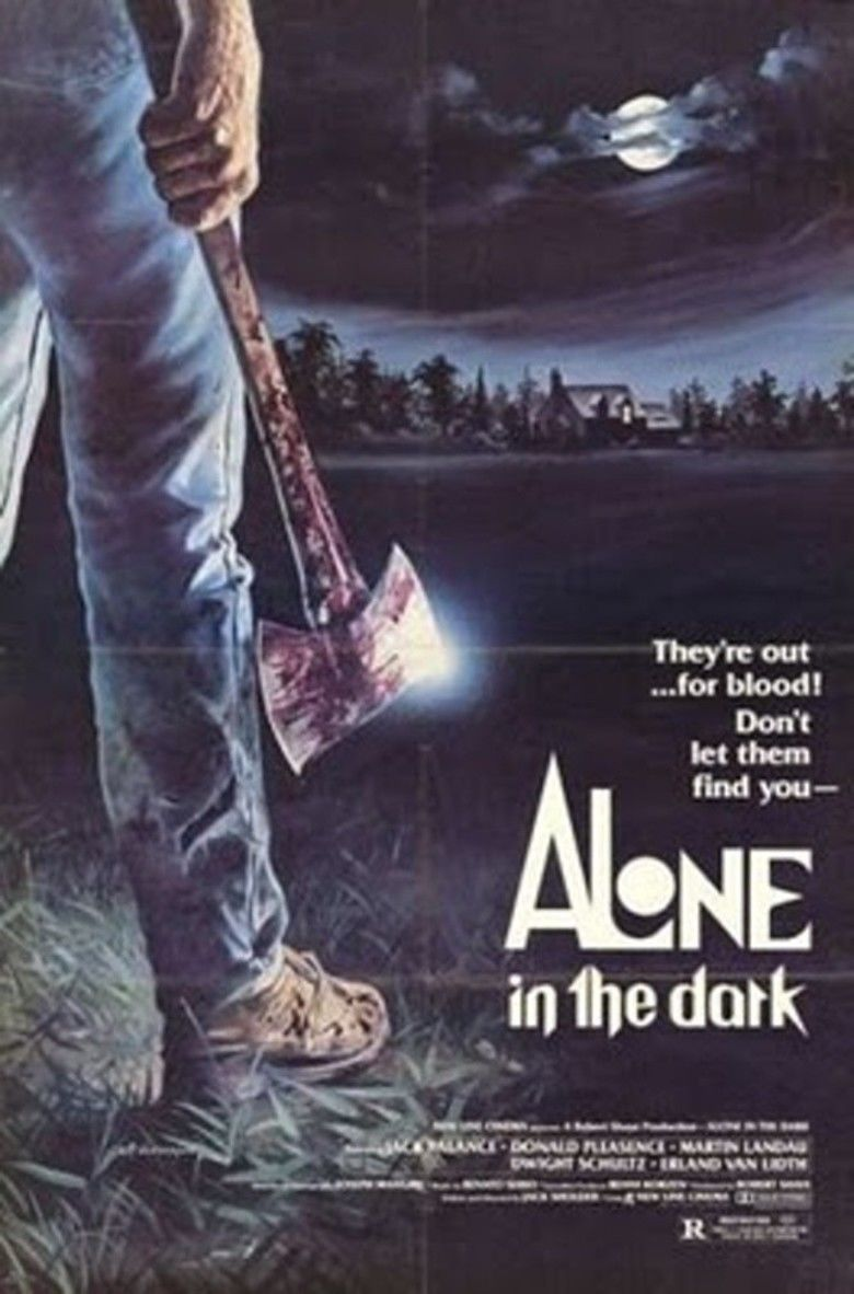 Alone in the Dark (1982 film) movie poster