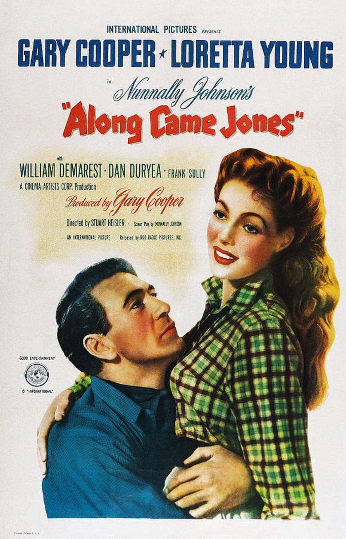 Along Came Jones (film) movie poster