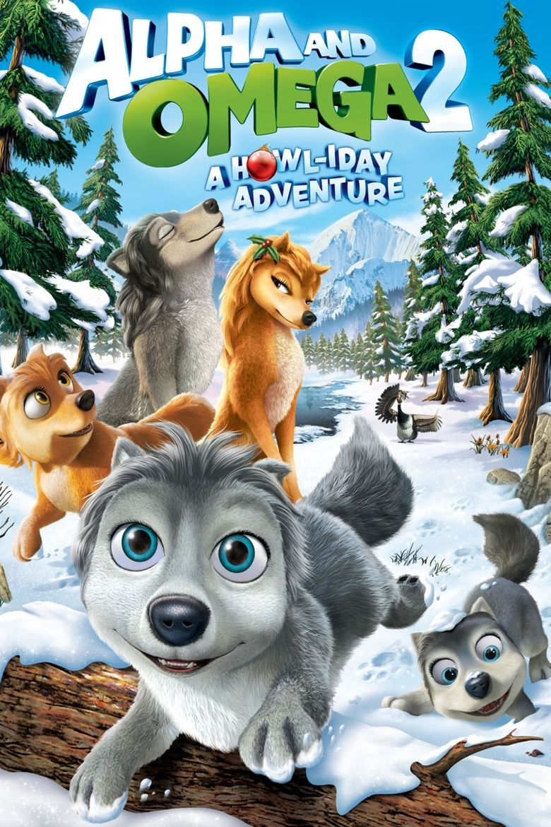 Alpha and Omega 2: A Howl iday Adventure movie poster