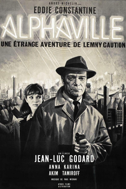Alphaville (film) movie poster