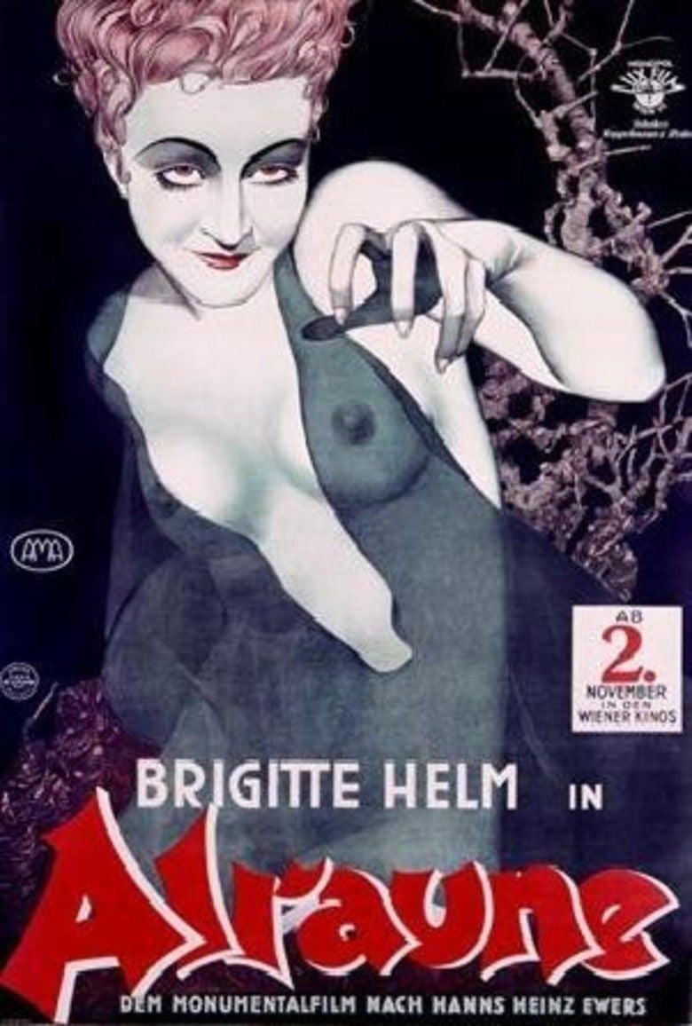 Alraune (1928 film) movie poster