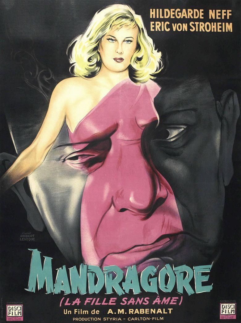 Alraune (1952 film) movie poster