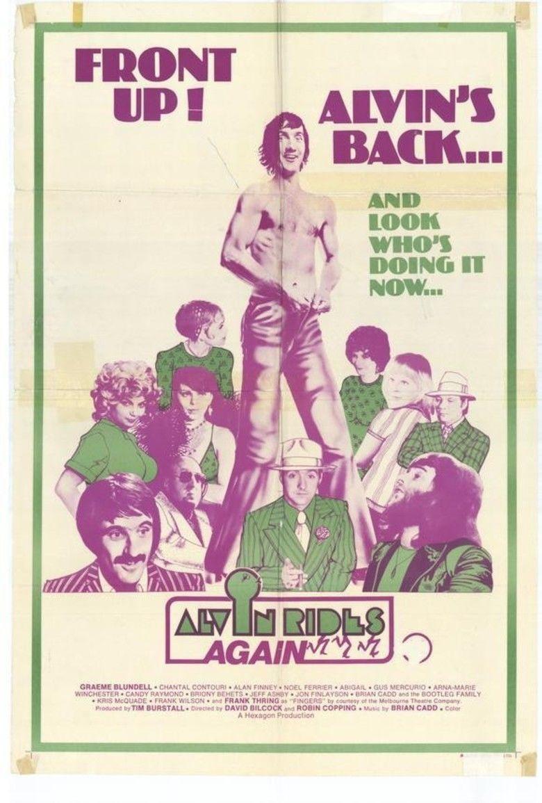 Alvin Rides Again movie poster