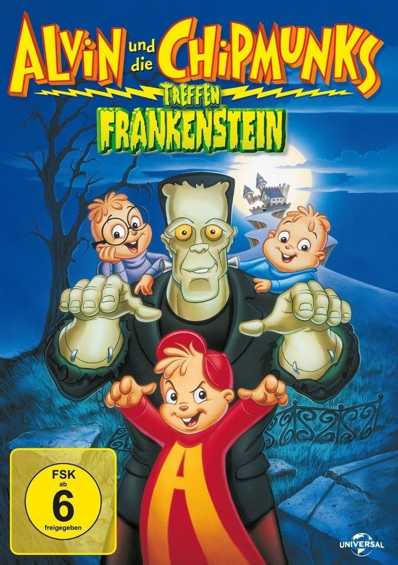 Alvin and the Chipmunks Meet Frankenstein movie poster