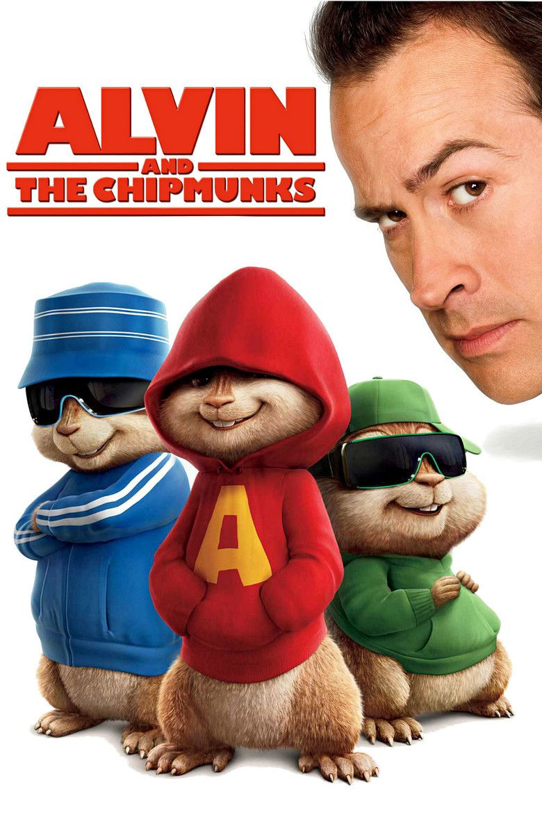 Alvin and the Chipmunks (film) movie poster