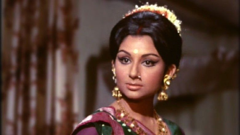 Amar Prem movie scenes