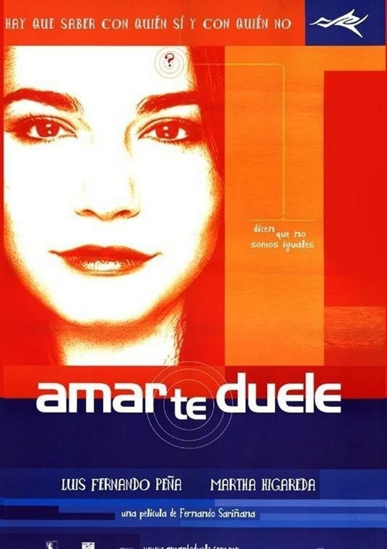 Amar te duele movie poster