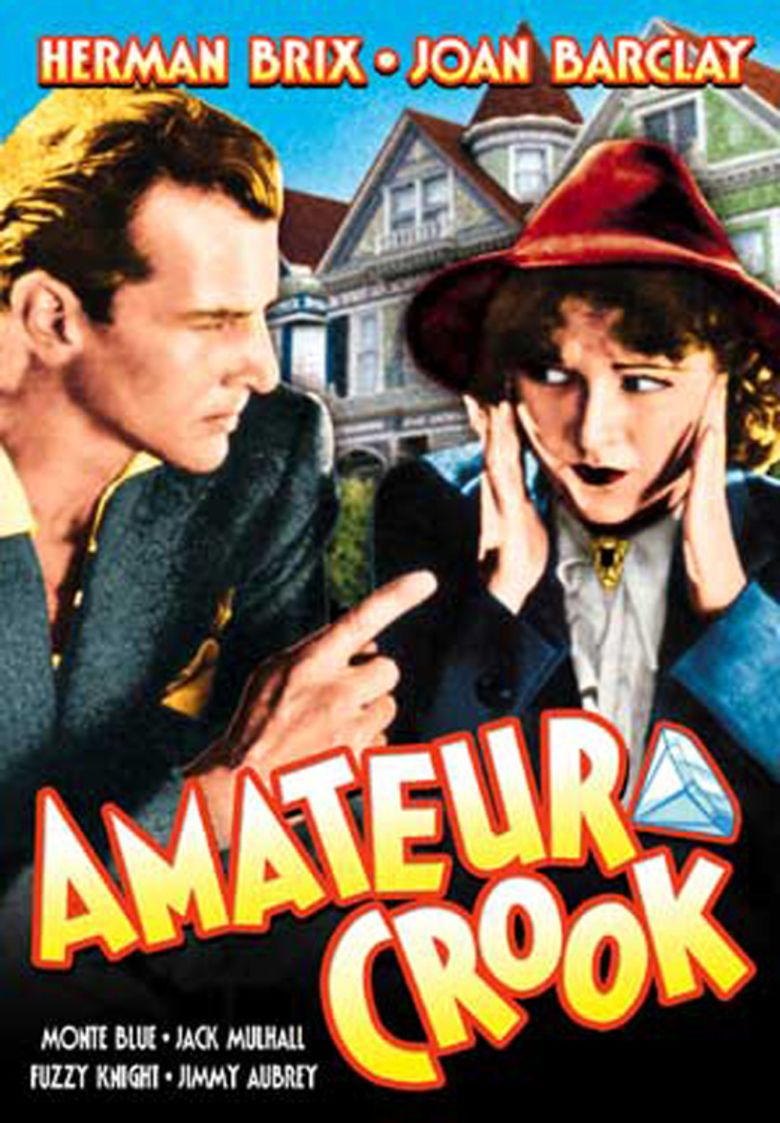 Amateur Crook movie poster