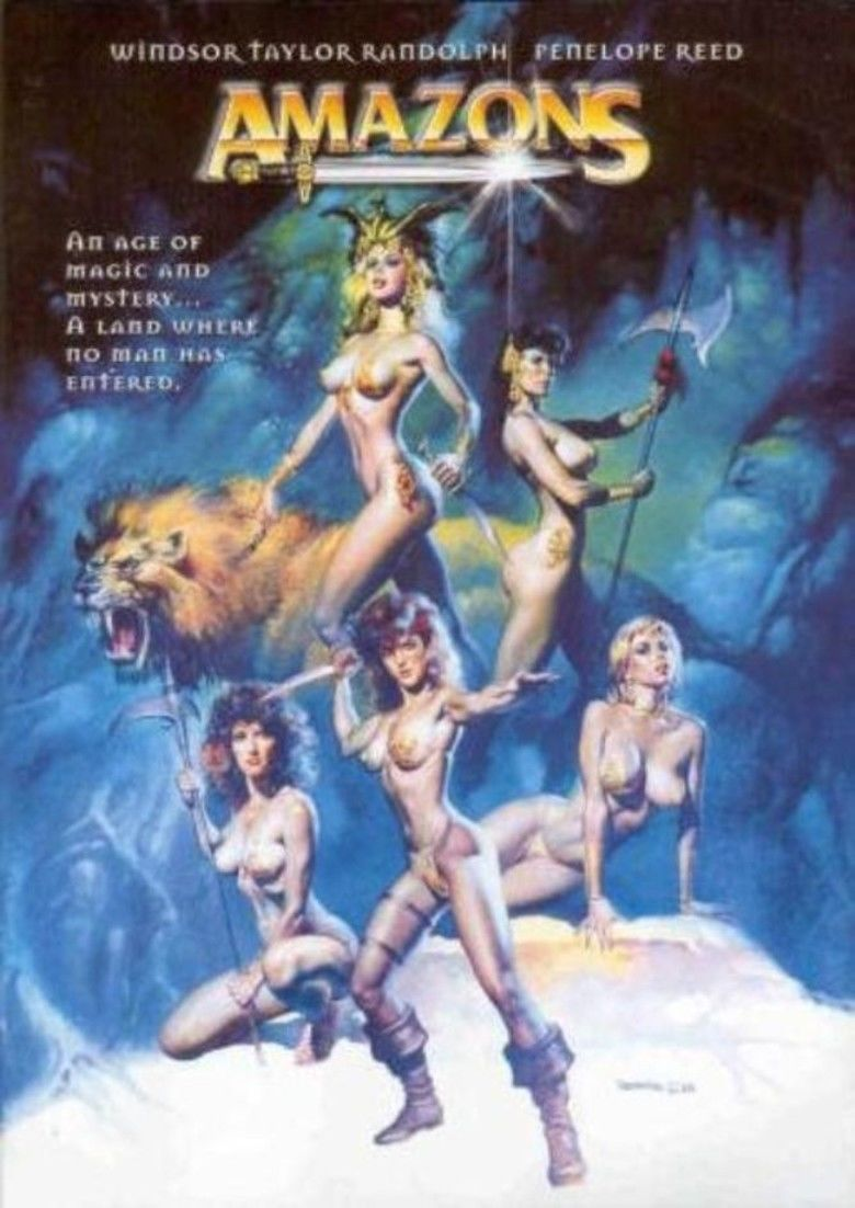 Amazons (1986 film) movie poster