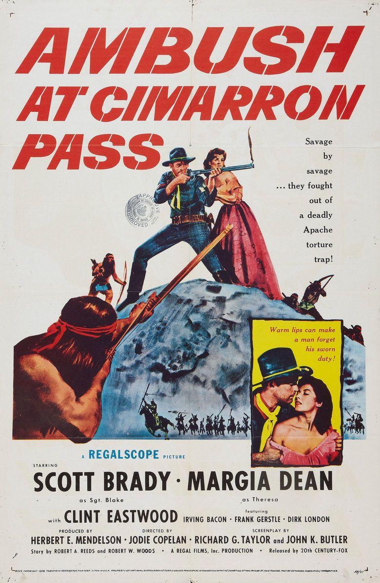 Ambush at Cimarron Pass movie poster