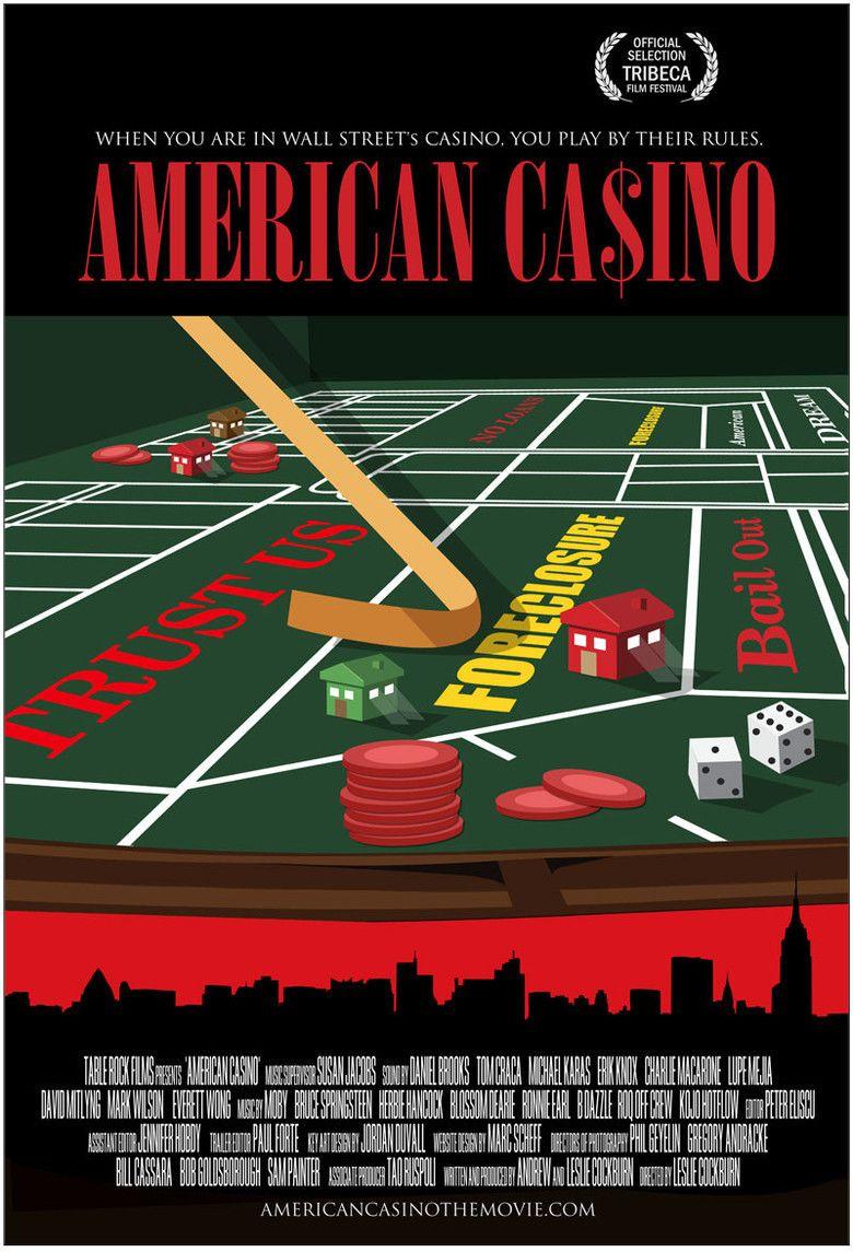 American Casino (film) movie poster