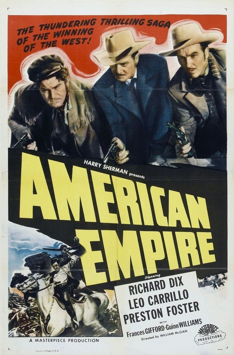 American Empire (film) movie poster