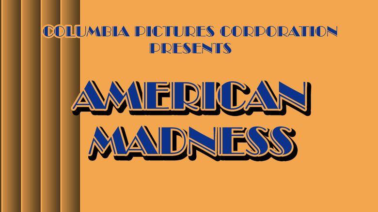 American Madness movie scenes