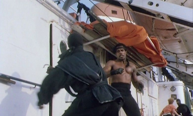 American Ninja 3: Blood Hunt movie scenes