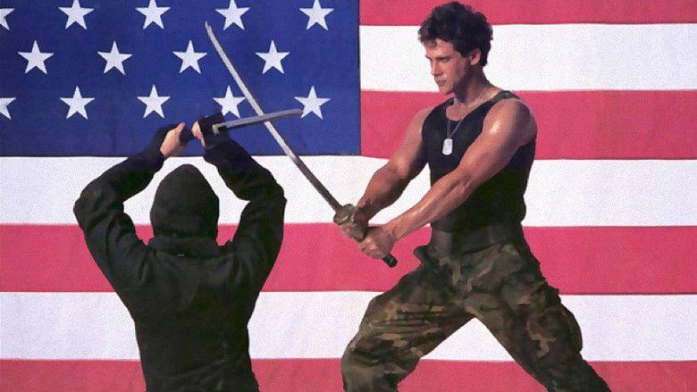 American Ninja movie scenes